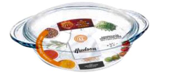 Cacerola de vidrio con tapa 23.5 x20.7x9.5cm Master chef Hudson