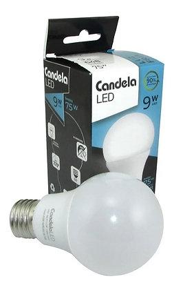 Lampara led Candela 9w fría/cálida reemplaza  a 75w