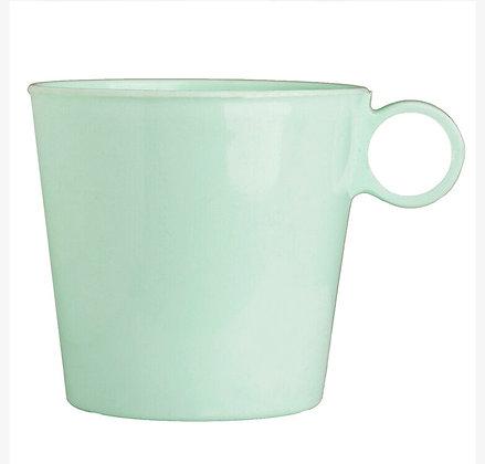 Jarro mug plastico 400cc colores pastel 11cm Cerri