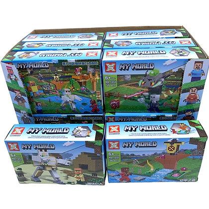 Juego tipo lego MY World 8 modelos distintos TR