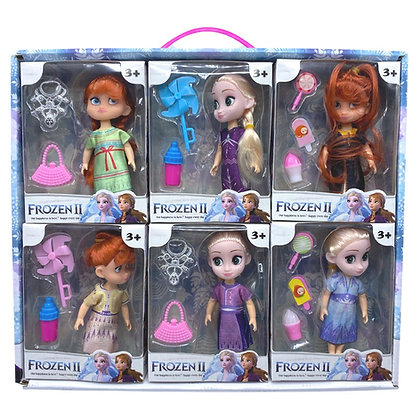 Muñeca baby Frozen con accesorios TR JU-4085