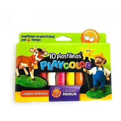 Plastilina x10 Playcolor