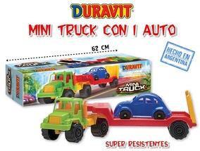Camion mosquito c/ 1 auto Duravit art 215 62cm
