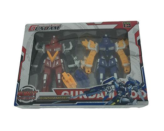 Juego de 2 robots en caja 23x17x4cm Sebigus art 61190