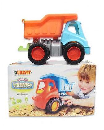 Camion volcador Duravit  en caja 40x22x24cm art231