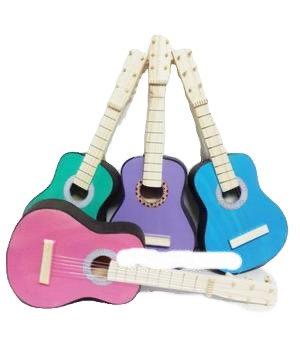 Guitarra de madera mediana 55cm