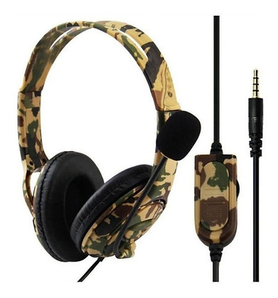 Auricular con cable Gamer con microfono PC PS4 P4-890 PRO TR EL-3249
