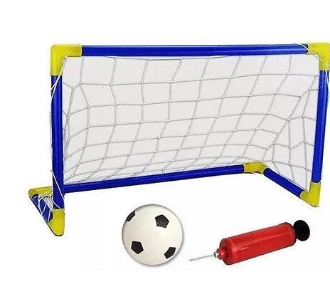 Arco de fútbol mediano con pelota art DQ-12