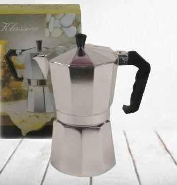 Cafetera acero para 6 tazas D'saza art 6615