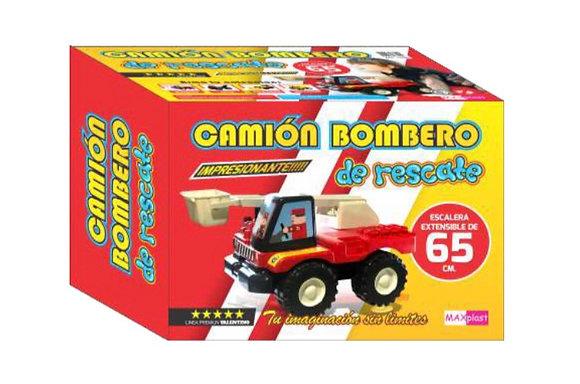 Camión grua de rescate 42x30cm Maxplast art 15089