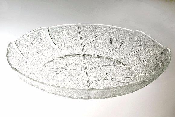 6 platos hondos vidrio 22cm Labrado Durax