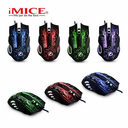 Mouse gamer Premiun usb iMICE X9 TR EL-3274