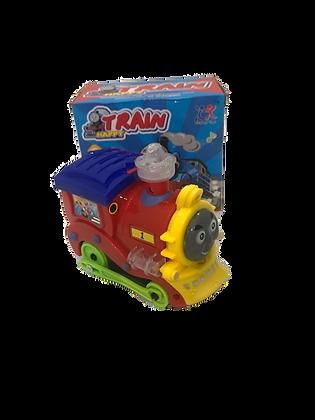 Tren a pila con luz/sonido y movimiento 13x12cm