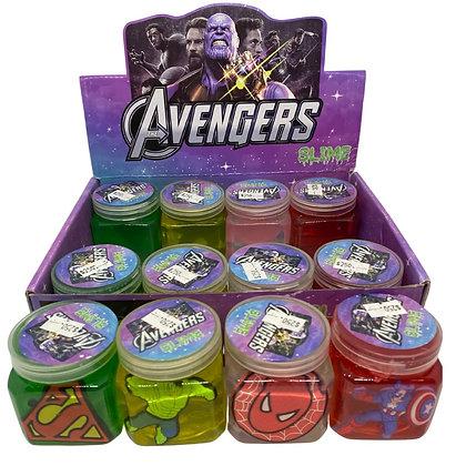 Slime con figura Avengers TR JU-118