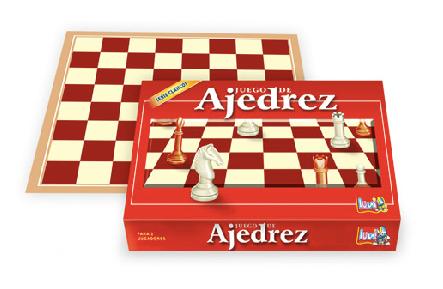 Juego de ajedrez Luna plast art 7001