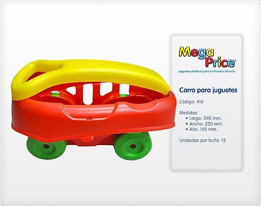 Carro para juguetes MegaPrice