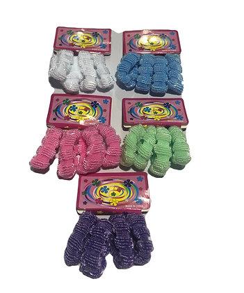 Colitas de toalla x 4 gruesas Boaz art 472-5