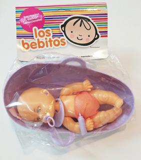Bebito con canasta MiniPlay 22x17cm