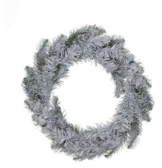 Corona de puerta 50x15cm blanca Naviluz