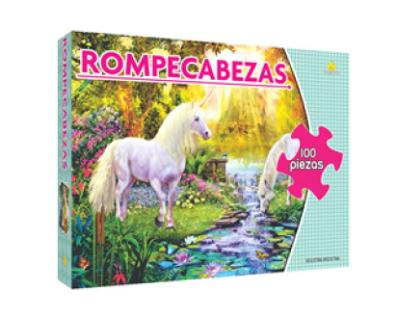 Rompecabezas 100 piezas Unicornio YUYÚ