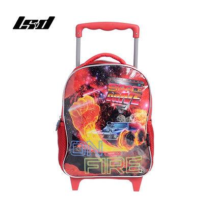 """Mochila infantil 12"""" con carro Space Drive LSYD art 94.17121"""