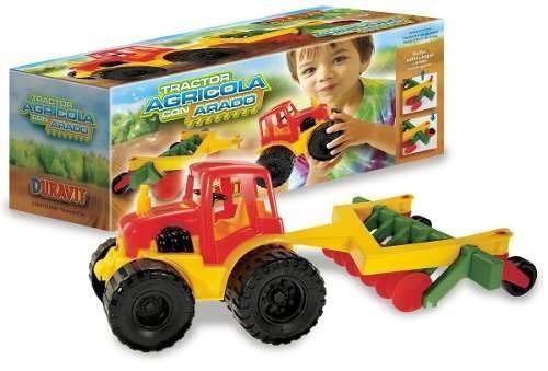 Tractor con arado Duravit art 652 40x16cm