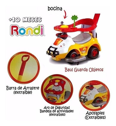 Andador beach patrol Rondi