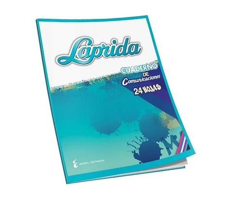 Cuaderno de comunicaciones tapa flexible 24 hj Laprida