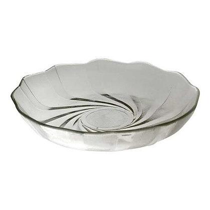 6 platos hondos vidrio 22cm cosmos Durax