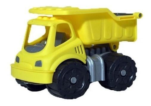 Camion volcador amarillo Duravit 17x12cm art358