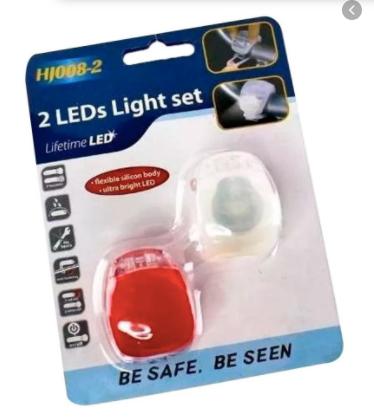 luz led bicicleta x 2