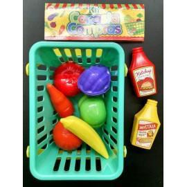 Kit Canasta de Compras Irv Toys art 223