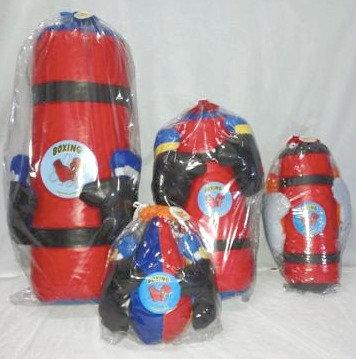 Guantes de box con puchinball lujo 35cm Eque art 803