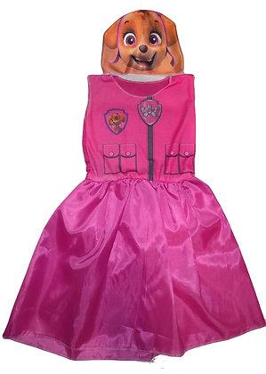 Disfraz Paw Patrol rosa
