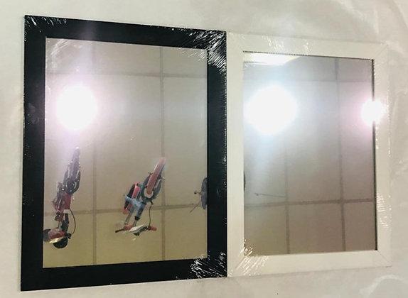 Espejo moldura 3cm de madera 30x40cm Bert