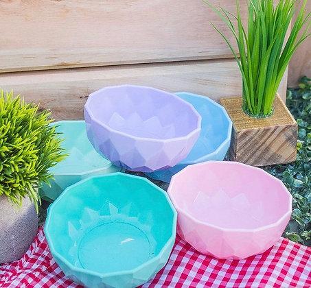 Bowls grande facetado pastel Cliker
