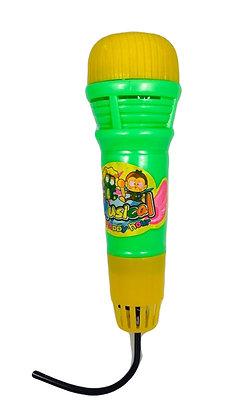 Microfono de juguete 15cm Rayabo art 2311B