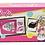 Thumbnail: Microondas  barbie 27x15 cm original c/accesorios Miniplay