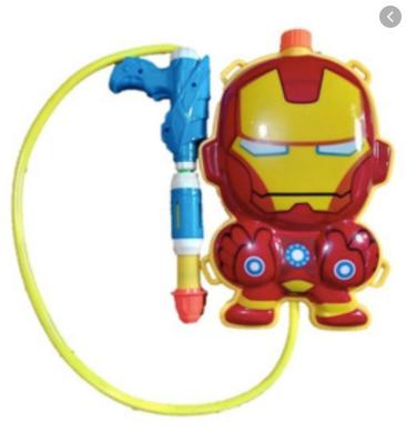 Mochila lanza agua Iron Man Sebigus art 60642