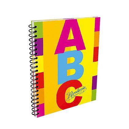 Cuaderno Rivadavia ABC anillado 21x27cm 60hojas