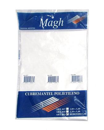 Cubremantel redondo  Magh 1,8mt art 019