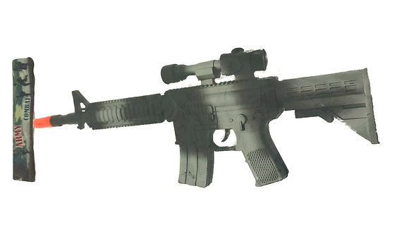 Ametralladora con ruido 43x15cm Sebigus art 60005