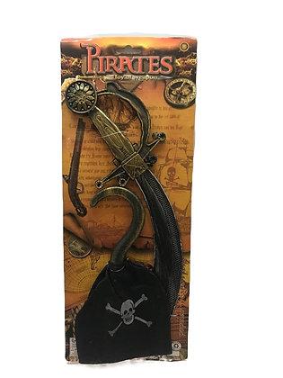 Juego de Pirata 43x17cm Sebigus
