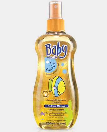 Baby colonia 200ml dulces mimos Algabo art 3332002