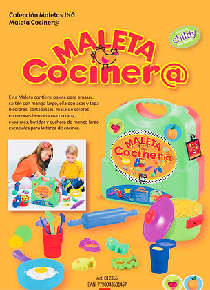 Maleta cocinera JNG art 12355