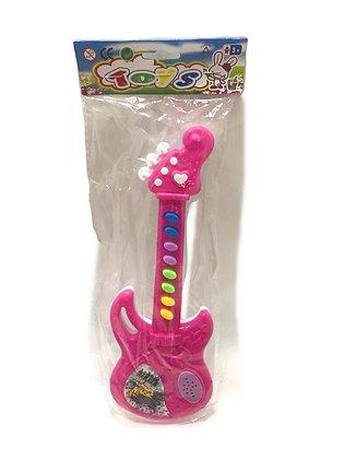 Guitarra a pila musical 25x10cm Sebigus
