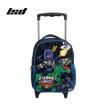 "Mochila infantil 12"" con carro Dino Robots LSYD art 94.17120"