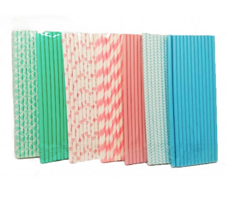Sorbetes de papel x 25 unidades color pastel Soifer