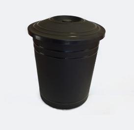 Resipiente de residuos 8 litros 27cm alto 23cm ancho Colores art 301