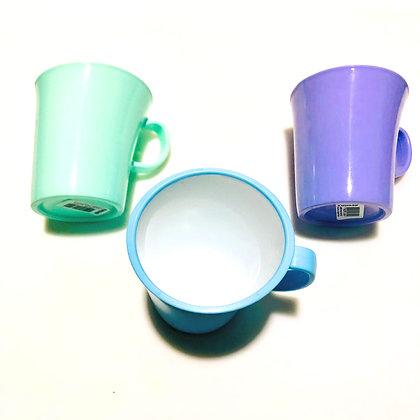 Jarro mug pesado bicolor Opening